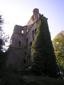 Donjon du Château de Tracy à Vire