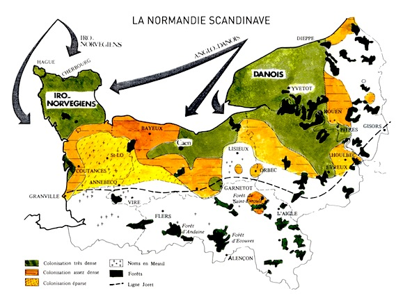 Invasions et colonisation Viking de la Normandie